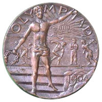Summer Olympics 1904 Medal Front Side