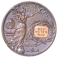 Летние Игры 1904 обратная сторона медали