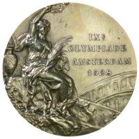 Летние Игры 1928 лицевая сторона медали