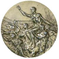 Summer Olympics 1928 Medal Reverse Side