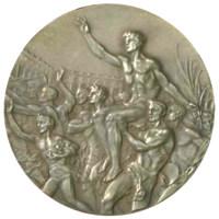 Летние Игры 1932 обратная сторона медали