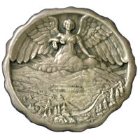 Winter Olympics 1932 Medal Front Side