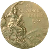 Summer Olympics 1936 Medal Front Side