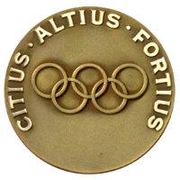 Зимние Игры 1960 обратная сторона медали