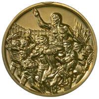 Summer Olympics 1964 Medal Reverse Side