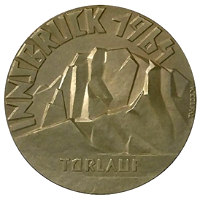 Winter Olympics 1964 Medal Front Side