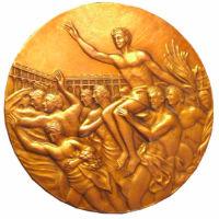 Летние Игры 1968 обратная сторона медали