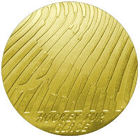 Winter Olympics 1968 Medal Reverse Side