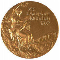 Summer Olympics 1972 Medal Front Side