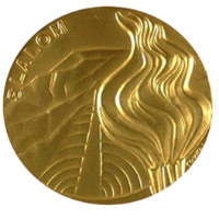 Winter Olympics 1976 Medal Reverse Side