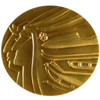 Winter Olympics 1988 Medal Reverse Side