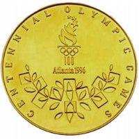 Летние Игры 1996 обратная сторона медали