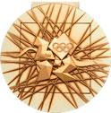 Summer Olympics 2012 Medal Reverse Side