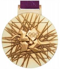 Летние Игры 2012 обратная сторона медали