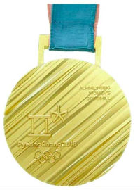 Winter Olympics 2018 Medal Reverse Side
